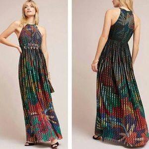 Anthropologie Geisha Designs 0 Maxi Dress Kalinka